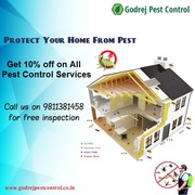 Get 10% OFF on all Pest Control Services from Godrej Pest Control