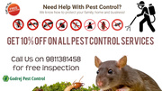 Flat 10% OFF on all Pest Control Services -Contact Godrej Pest Control