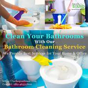Book Bathroom Cleaning Service in Bangalore at Affordable Prices
