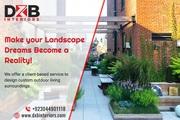 Finest Landscape Design Services in Lahore